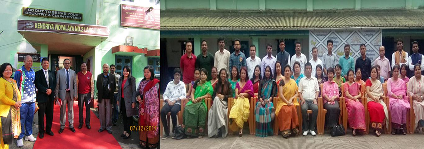 Commissioner visit on Kv Langjing and Group Photo on Teacher Day (5/9/2019)